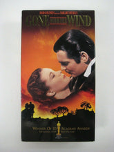 Gone with the Wind VHS Tape Movie 1998 Box Set of (2) Tapes