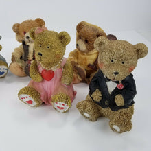 Greenbrier International Bear Collection 8-Pc Set- If You LOVE Bears- Bring Joy!