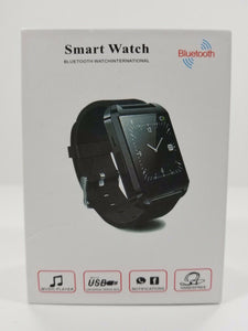 Blue Tooth Watch International Smart Watch - Red-NEW Open Box