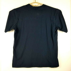 Reebok Mens Short Sleeve Cotton T-Shirt - Dark Blue - XL