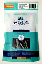 Salvere Womens Thigh High Compression Hose 15-20 mmHg Small 103272 -Charcoal NEW