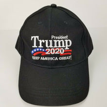 "TRUMP 2020 Hat ""Keep America Great!"" Black - Adjustable Size - NWOT"
