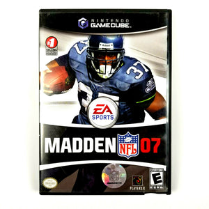 Madden NFL 07 EA Sports Nintendo Gamecube Video Game with Manual