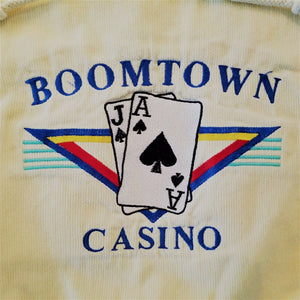 "Boomtown Casino Lightweight ""Poker"" Hoody w/Drawstrings - XL"