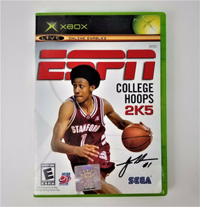 ESPN College Hoops 2K5 Video Game Basketball Disc w/Instruction Book