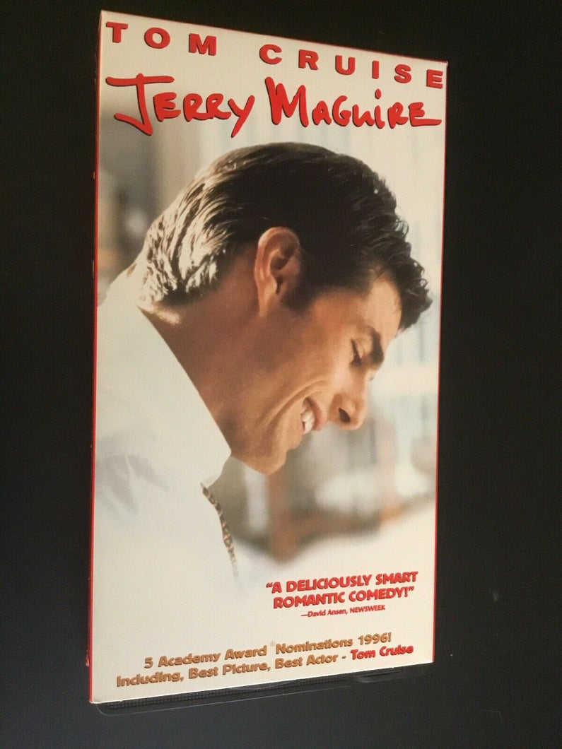 Jerry Maguire (VHS, 1997, Closed Captioned)