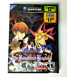 Nintendo GAMECUBE Yu-Gi-Oh! The Falsebound Kingdom Video Disc w/Case - No Manual