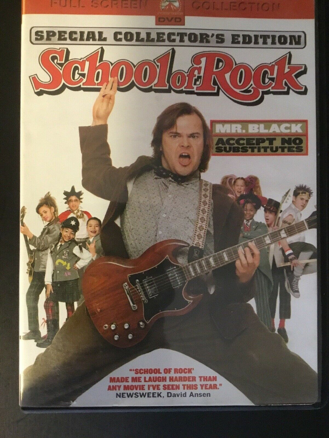 The School of Rock (DVD, 2004, Full Frame)
