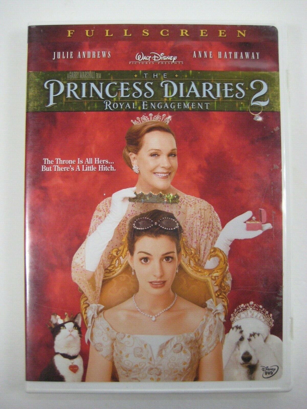 Princess Diaries 2: Royal Engagement (DVD, 2004, Widescreen)