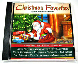 """Christmas Favorites"" CD by Original Artists (United Audio 2006) - Pre-owned"