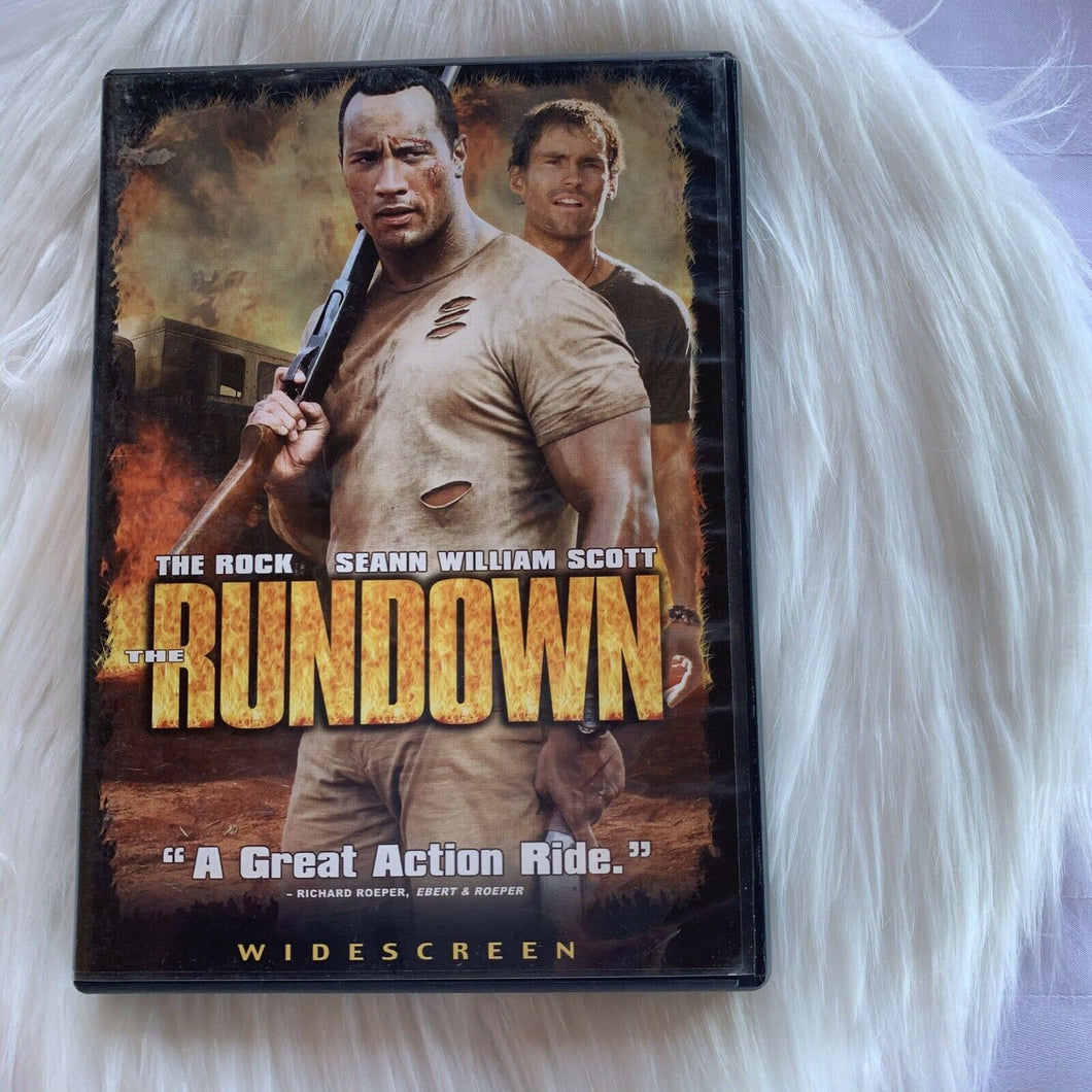 The Rundown (DVD, 2004, Widescreen Edition)