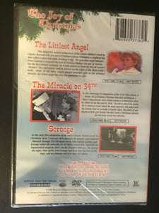 The Littlest Angel / The Miracle on 34th Street / Scrooge DVD Christmas NEW