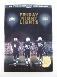 Friday Night Lights (DVD, 2005, Widescreen) Billy Bob Thornton, Jay Hernandez