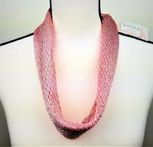 GiftCraft Neck Accessory Scarf (Soft Pink Cloth) w/Magnetic Bling Closure - New