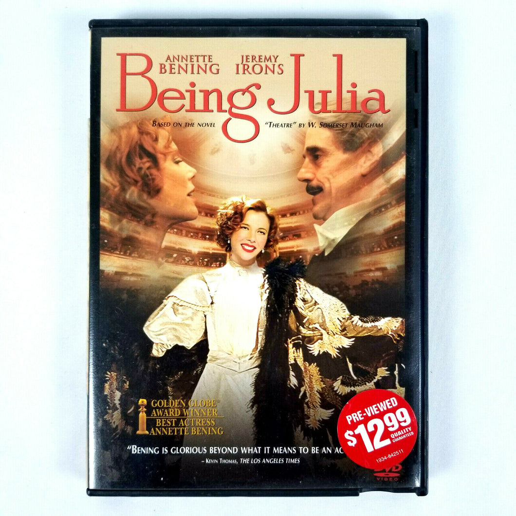 Being Julia (DVD Movie, 2005 - Anamorphic Widescreen)  Rated R