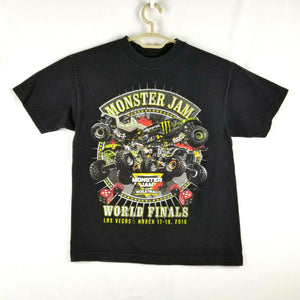 MONSTER JAM World Finals Collectible T-shirt - Las Vegas 2016 - Black - M