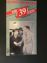 The 39 Steps VHS, Alfred Hitchcock