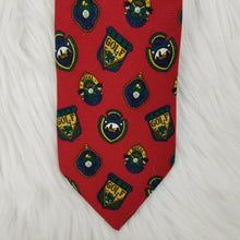 Faconnable GOLF Insignias Necktie 100% Silk - Hand Made in France - Red - 60""