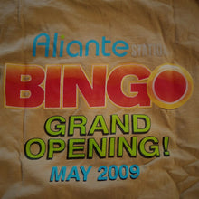 Collectible Aliante Casino Hotel T-shirt - Grand Opening BINGO May 2009 - XL