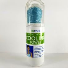 O2Cool ArcticCloth Sport Cooling Towel Turquoise - 33 x 13 - Stay Cool for Hours