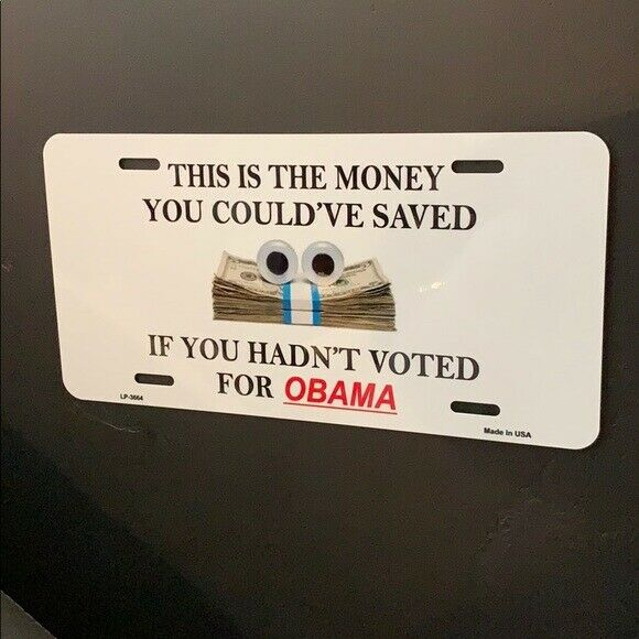 Humorous Auto Tag - Anti-Obama