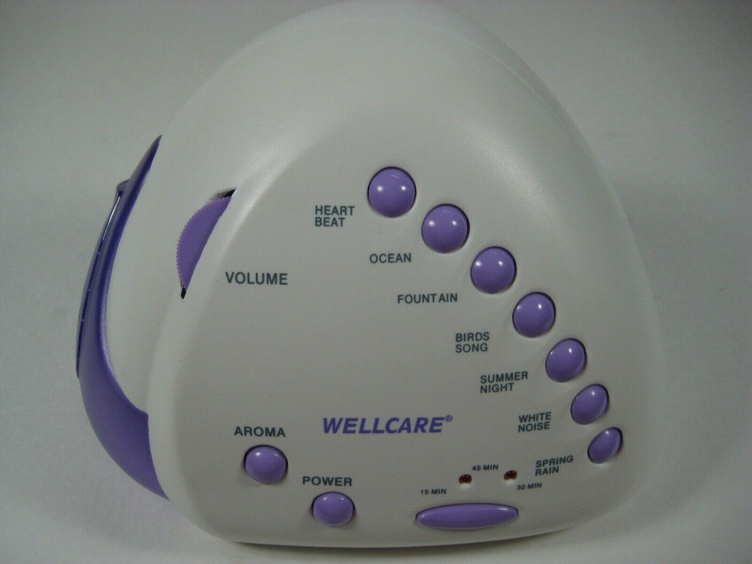 WELLCARE Nature Sounds and Aroma Relaxer Model WE-689