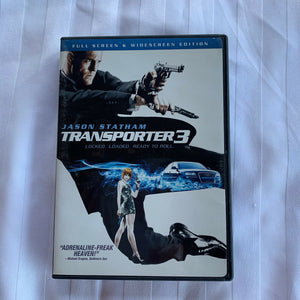 The Transporter 3 (DVD, 2009, Full Screen/ Widescreen Edition)