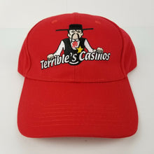 Terrible's Casinos Ball Cap / Baseball Hat w/Embroidered Logo on Front - RED