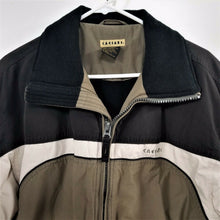 CAESARS Mens Ski Jacket/Winter Coat - Dark Brown Tan Brown - Adult Sm