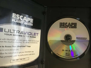 Escape From Planet Earth (DVD, 2013) Includes Ultraviolet Digital Copy