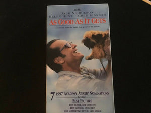 As Good as It Gets (VHS, 1998, Closed Caption)