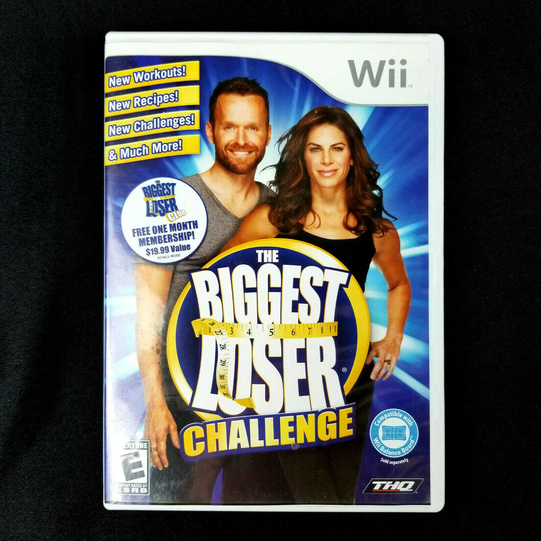 The Biggest Loser Challenge - Nintendo Wii Game 2010 w/ Instruction Booklet