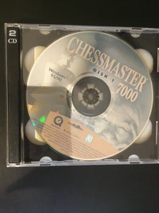 Chessmaster 7000 2 Disc (PC, 1990-1999) Missing Front Cover