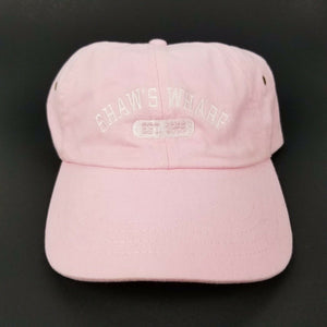 Shaw's Wharf New Harbor ME Soft Top Ball Cap/Baseball Hat w/Embroidery