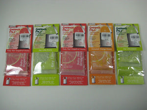 Seige Garbage Pals Long Lasting Home Fresh Scent Aroma (5 Pk Variety Scents)