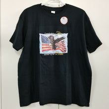"""Land of the Free"" (Disabled Vets) T-shirt Black w/Decoration - NWOT - L"