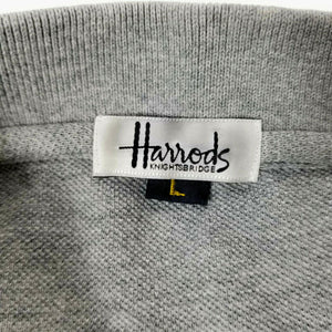 Harrods Knightsbridge Old Course at St Andrews Golf Polo Shirt - Gray - Size L