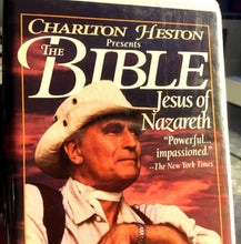 Charlton Heston Presents the BIBLE - Jesus of Nazareth (VHS, 1995, Clam Shell)