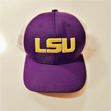 LSU Ball Cap/Hat w/Logo & Snap Back Closure - Adjustable Size