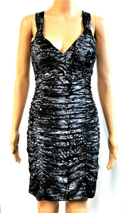 Little Black Dress Sequins by Deb Womens BodyCon Sheath Sexy Party Clubbing - L