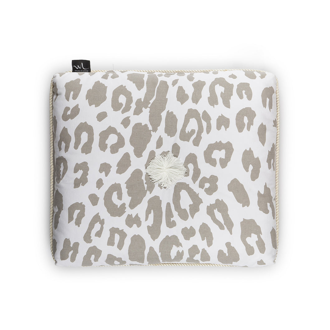 Kapok Cushion Leopard