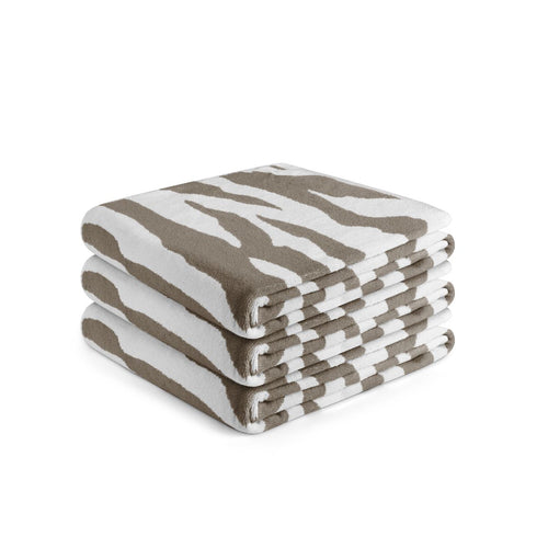 Towel Zebra Dark Beige
