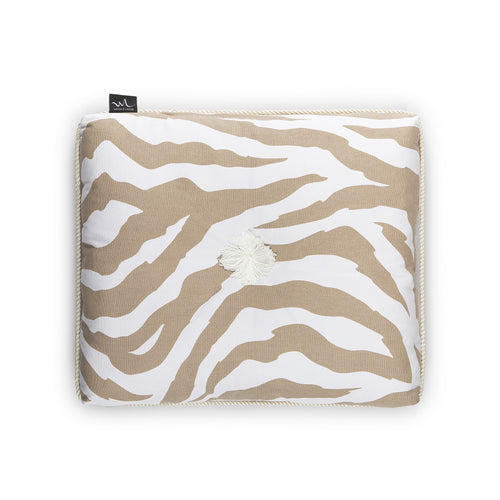 Kapok Cushion Zebra