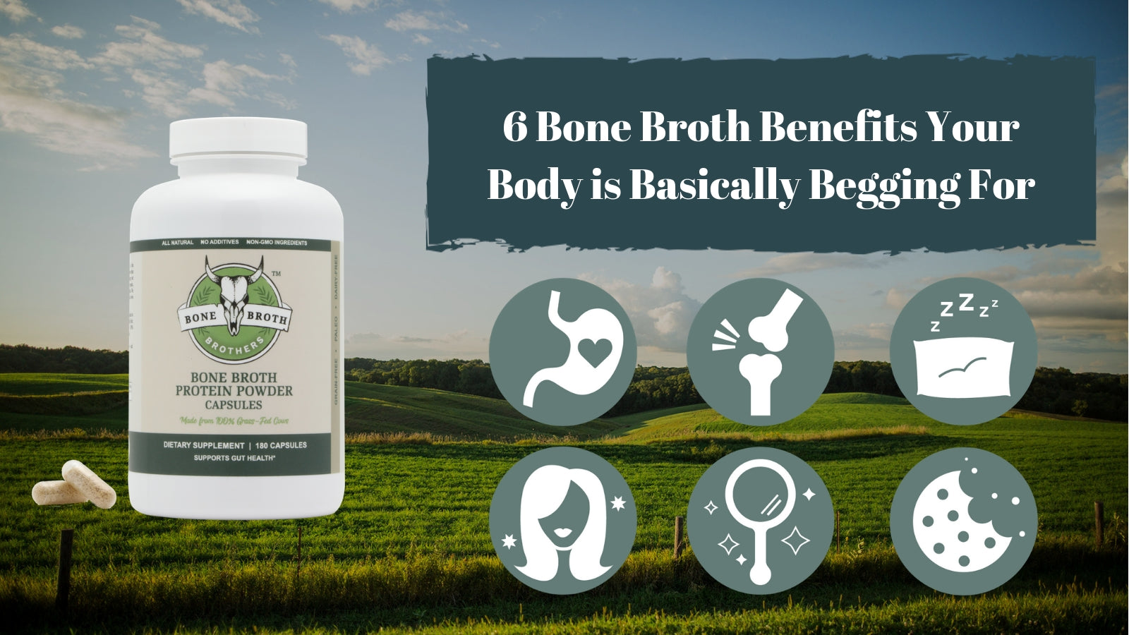 Bone Broth Benefits Capsules