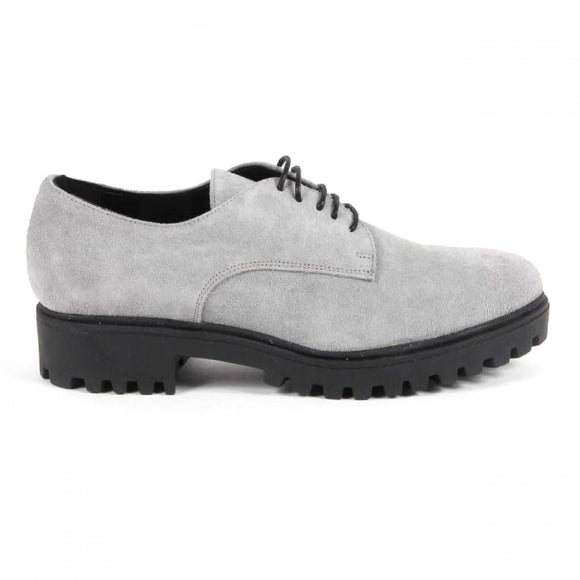 V 1969 Italia Womens Lace Up Shoe C01 CAMOSCIO GRIGIO