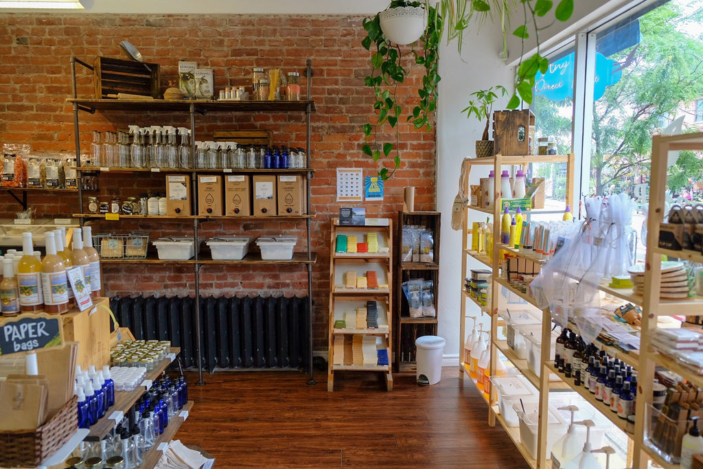 Urban Bulk and Refill, zero waste, small business Toronto, refill depot