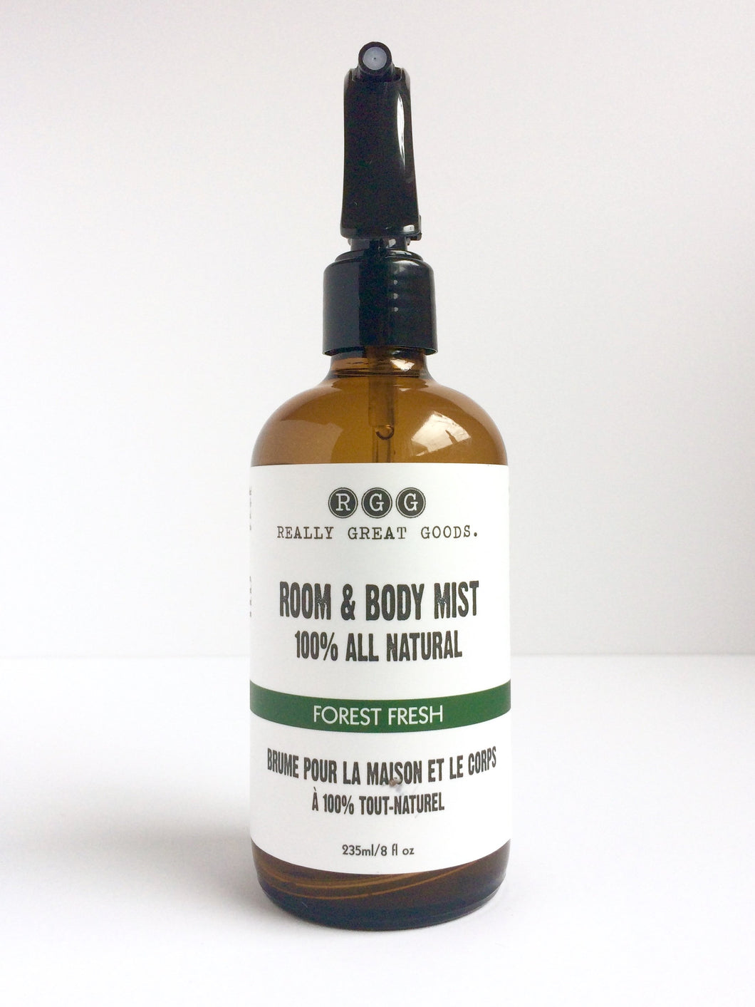 Forest Fresh Organic Room & Body Mists from Really Great Goods.