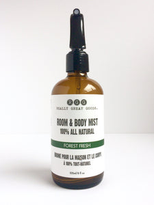 Forest Fresh Organic Room & Body Mist from Really Great Goods