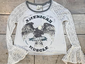 American Muscle tee by White Crow