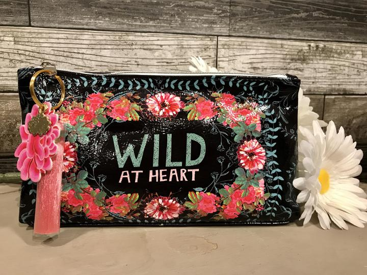 Wild at Heart Makeup Pouch